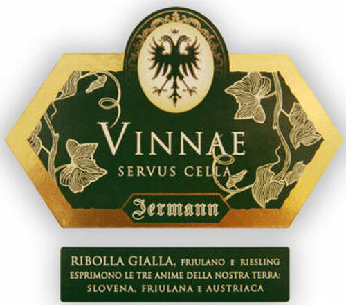 Jermann Vinnae Ribolla Gialla IGT 2019 (Italy) Rated 92WE