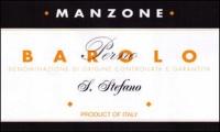 Manzone Barolo S. Stefano di Perno DOCG 2001 Rated 91WS