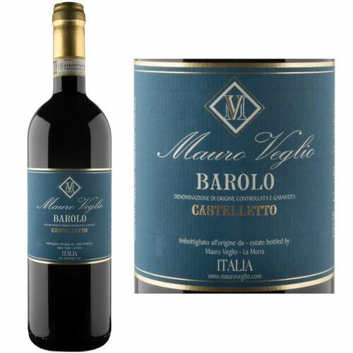 Mauro Veglio Barolo Castelletto DOCG 2015 (Italy) Rated 93JS