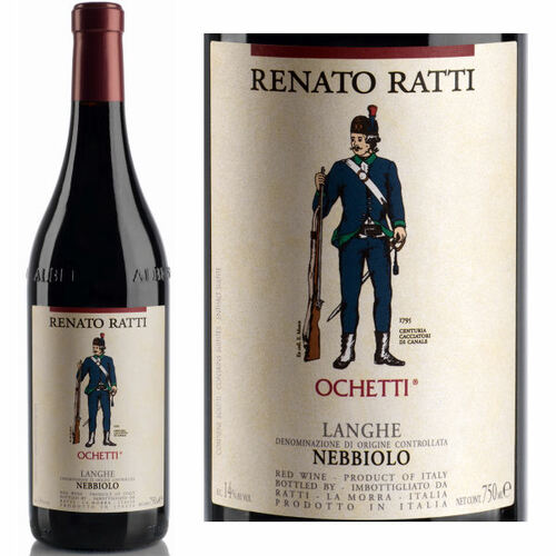 Renato Ratti Nebbiolo Langhe Ochetti DOC 2018 (Italy)