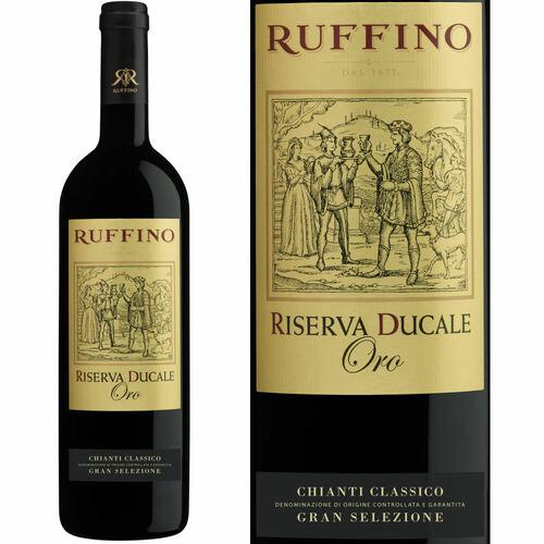 Ruffino Riserva Ducale Gold Label Chianti Classico Gran Selezione DOCG 2015 (Italy) Rated 94JS