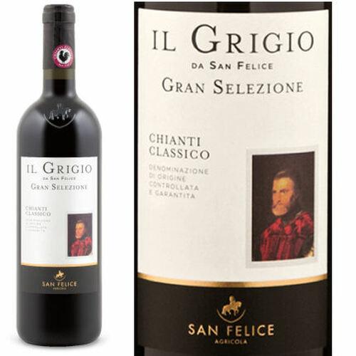 San Felice Il Grigio Gran Selezione Chianti Classico DOCG 2014 Rated 92WS