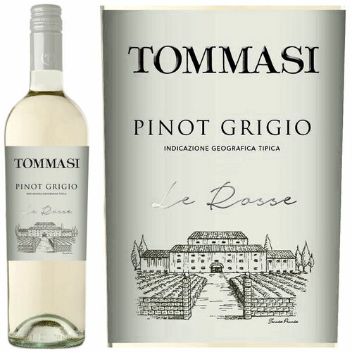 Tommasi Le Rosse Pinot Grigio IGT 2019 (Italy)