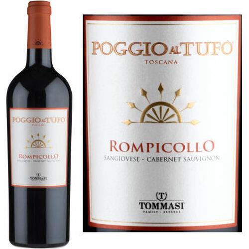 Tommasi Poggio al Tufo Rompicollo Maremma Toscana 2017 Rated 91JS