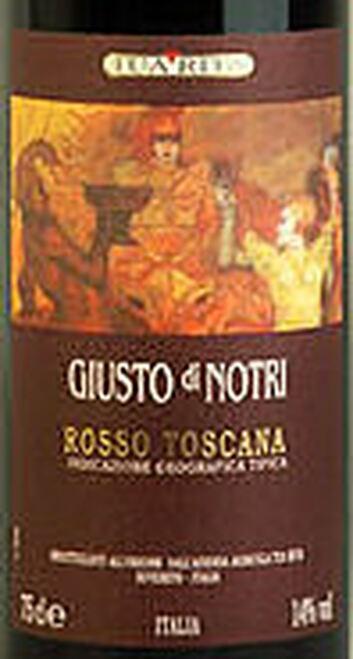 Tua Rita Giusto di Notri 2003 (Italy) Rated 92WS