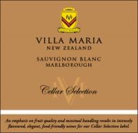 Villa Maria Cellar Selection Sauvignon Blanc 2016 (New Zealand)