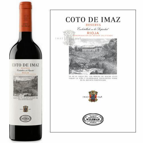 El Coto de Rioja Coto de Imaz Reserva 2015 (Spain) Rated 91WE