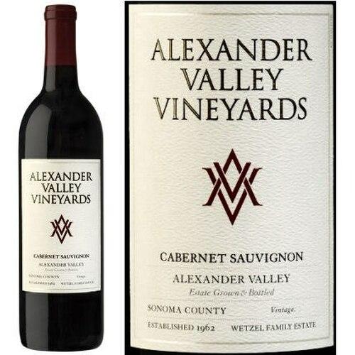 Alexander Valley Vineyards Wetzel Family Estate Alexander Cabernet 2018