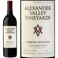 Alexander Valley Vineyards Wetzel Family Estate Alexander Cabernet 2014