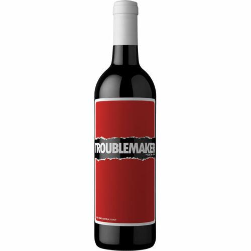 12 Bottle Case Troublemaker by Austin Hope Central Coast Red Blend 13 NV