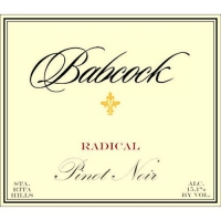 Babcock Radical Santa Rita Hills Pinot Noir 2012 Rated 94WE CELLAR SELECTION