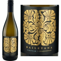 Baileyana Firepeak Vineyard Edna Valley Chardonnay 2014 Rated 93WE EDITORS CHOICE