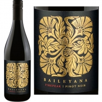 Baileyana Firepeak Vineyard Edna Valley Pinot Noir 2013 Rated 90WE