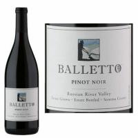 Balletto Russian River Pinot Noir 2014