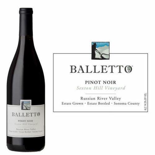 Balletto Sexton Hill Vineyard Russian River Pinot Noir 2018