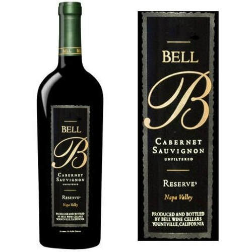 Bell Cellars Reserve Napa Cabernet 2016