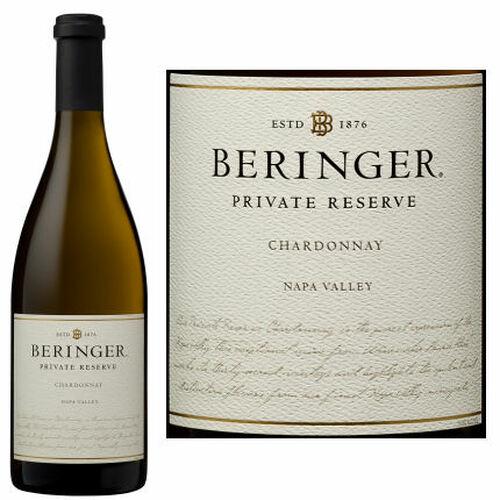 Beringer Private Reserve Napa Chardonnay 2018
