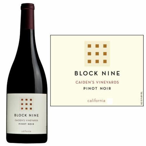 Block Nine Caiden's Vineyard California Pinot Noir 2019