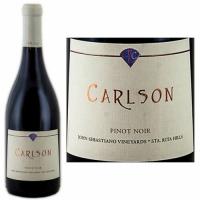 Carlson John Sebastiano Vineyards Santa Rita Hills Pinot Noir 2013 Rated 93W&S