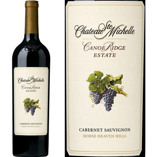 Chateau Ste. Michelle Canoe Ridge Estate Horse Heaven Hills Cabernet Washington 2015 Rated 91W&S