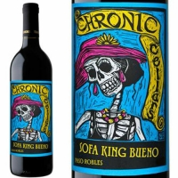 Chronic Cellars Sofa King Bueno Paso Robles Red Blend 2015