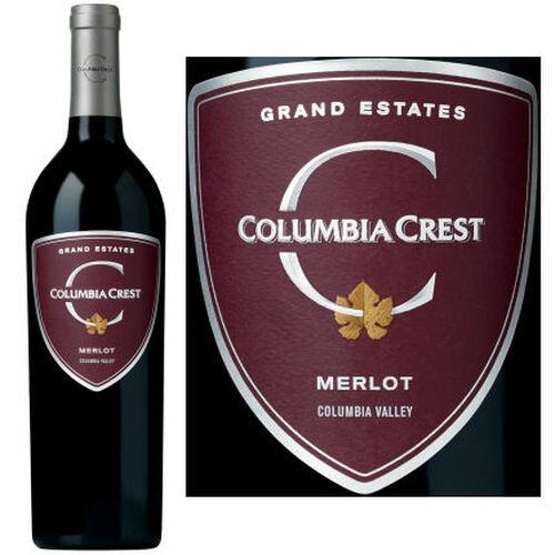 Columbia Crest Grand Estates Merlot Washington 2016