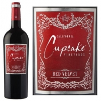 Cupcake California Red Velvet Red Blend 2014