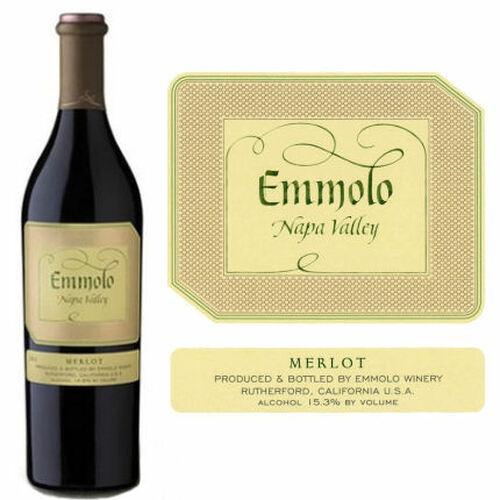 Emmolo Napa Valley Merlot 2018