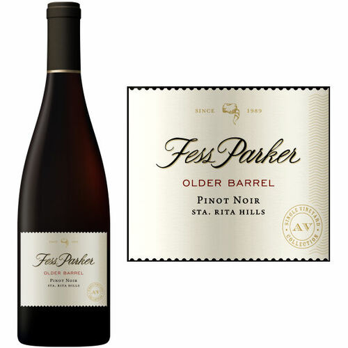 Fess Parker Older Barrels Santa Rita Hills Pinot Noir 2017 Rated 94JD