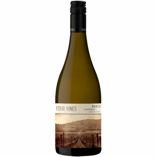 Four Vines Naked Central Coast Chardonnay 2019 Rated 91WE BEST BUY
