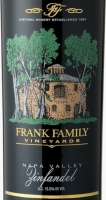 Frank Family Vineyards Napa Zinfandel 2014