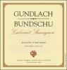 Gundlach Bundschu Sonoma Cabernet 2015 Rated 91WE