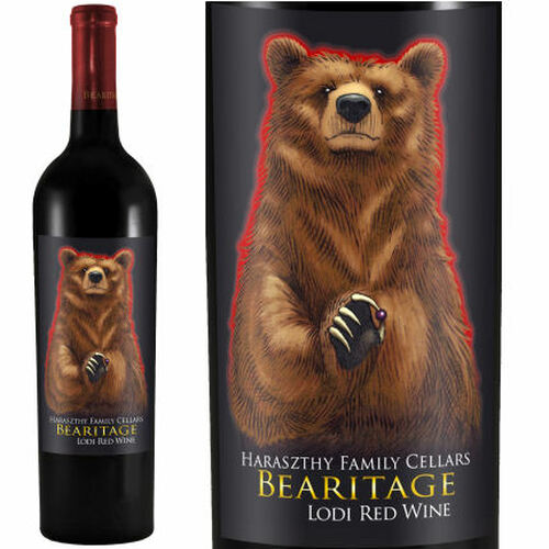 Bearitage by Haraszthy Family Cellars Lodi Red Wine 2017