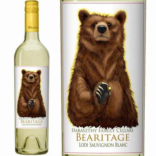 Bearitage by Haraszthy Family Cellars Lodi Sauvignon Blanc 2019
