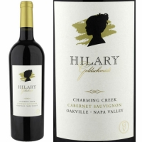 Hilary Goldschmidt Charming Creek Vineyard Oakville Cabernet 2017 Rated 91JS