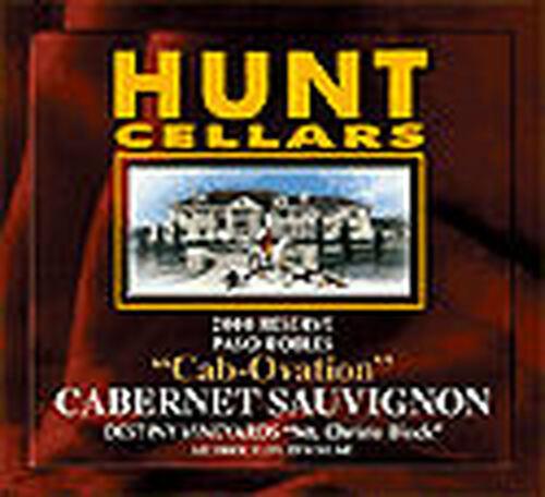 Hunt Cellars Cab-Ovation Paso Robles Cabernet 2000
