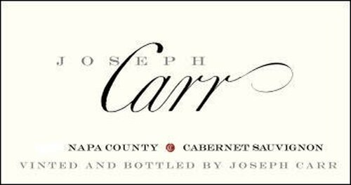 Joseph Carr Napa Cabernet 2017
