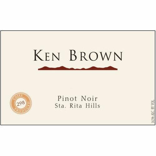 Ken Brown Sta. Rita Hills Pinot Noir 2018