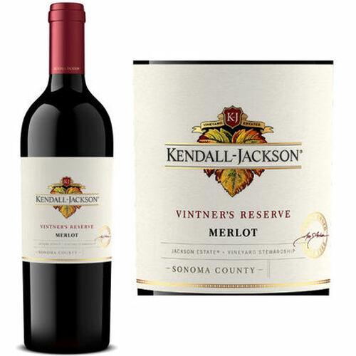 Kendall Jackson Vintner's Reserve Merlot 2017