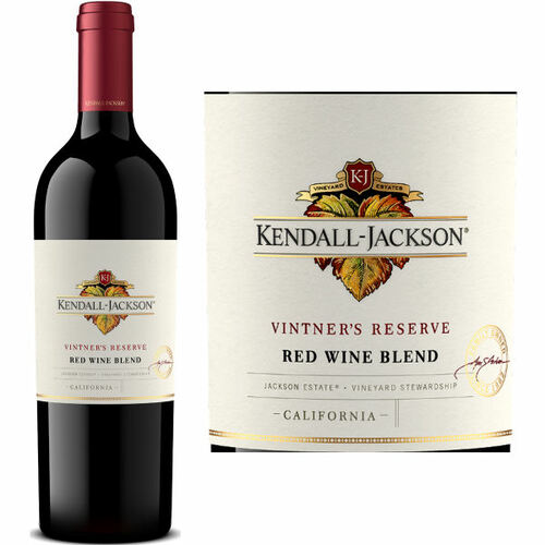 Kendall Jackson Vintner's Reserve California Red Wine Blend 2017