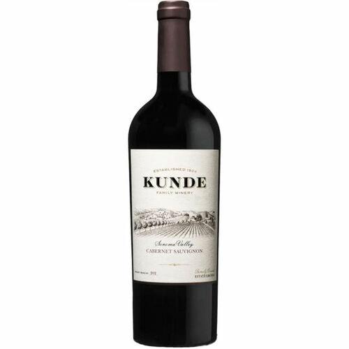 12 Bottle Case Kunde Sonoma Cabernet 2018