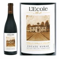 L'Ecole No. 41 Seven Hills Vineyard Walla Walla Syrah Washington 2011
