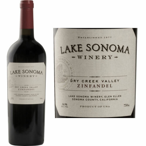 Lake Sonoma Dry Creek Zinfandel 2017