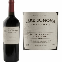 Lake Sonoma Dry Creek Zinfandel 2010