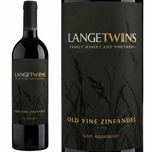 LangeTwins Lodi Old Vine Zinfandel 2016