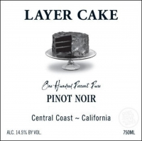 Layer Cake Central Coast Pinot Noir 2014