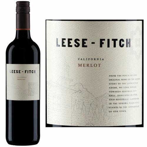 Leese-Fitch California Merlot 2018