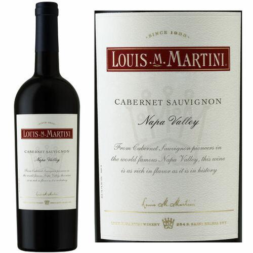 Louis Martini Napa Cabernet 2017 Rated 91WS