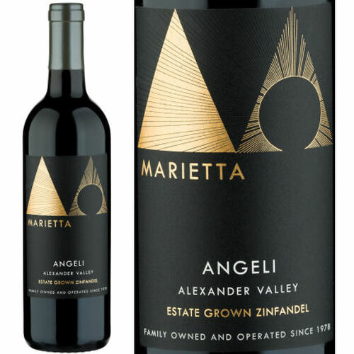 Marietta Cellars Angeli Alexander Valley Zinfandel 2018 Rated 91-94VM