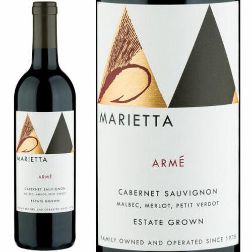 Marietta Cellars Arme Estate Cabernet 2017 Rated 91-93VM